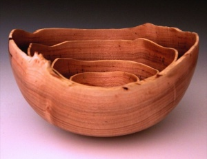Nested bowls by Matt Monaco