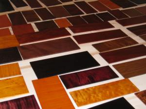 Finishing Sample Boards